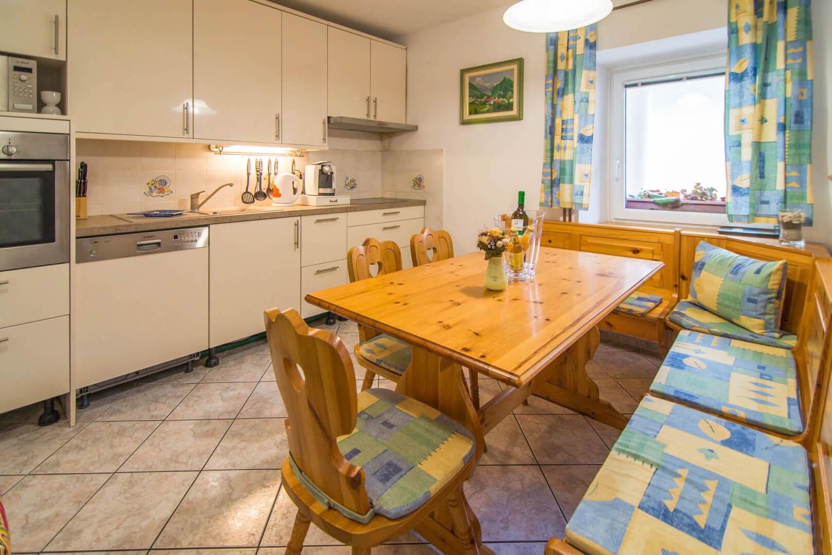 Bivalni prostor s kuhinjo - Apartma Aktivni počitek