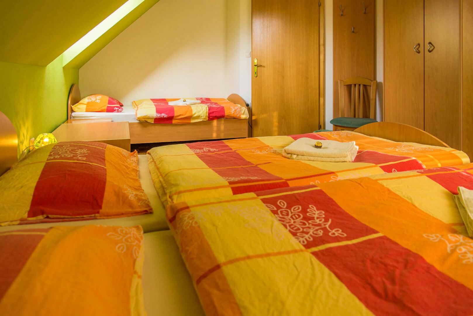 Soba za 3 osebe - Apartma Gozdni Sprehod